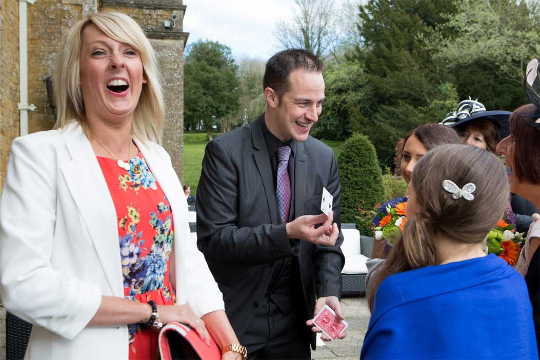 Wedding Magician In Derbyshire