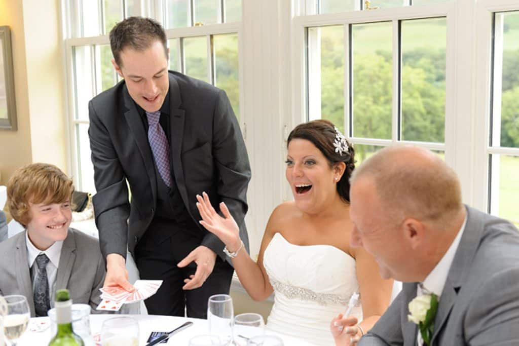 Cool Table Magician for hire Derbyshire