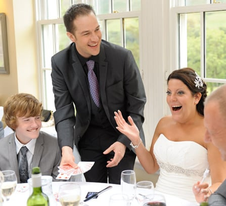 Wedding Table Magician