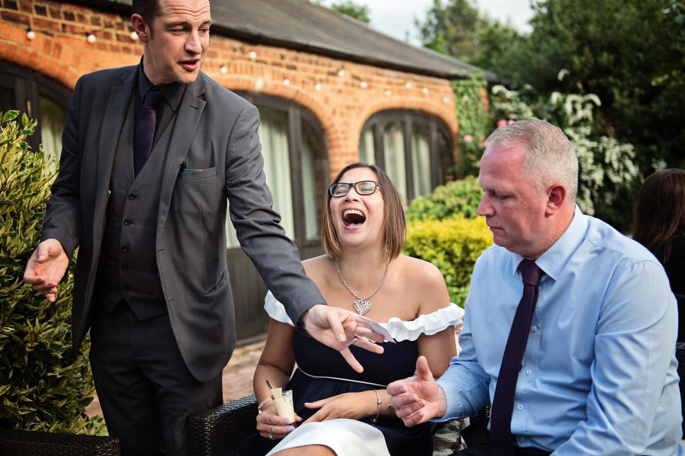 Manchester wedding magicians