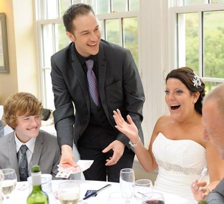 Wedding Table Magician